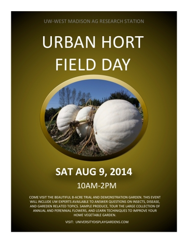 2014 URBAN HORT FIELD DAY POSTER